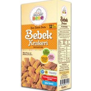 Aller Bebe Kraker - Tam Tahıllı Dutlu Ek Gıda 90 g